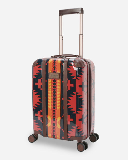 """SPIDER ROCK 20"""" SPINNER LUGGAGE IN RUST/NAVY"""