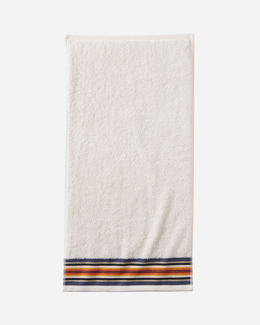 SERAPE HAND TOWEL IN IVORY