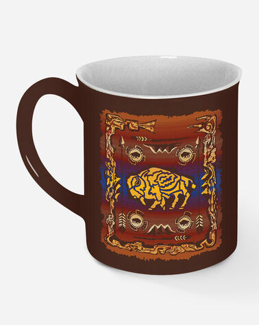 LEGENDARY COFFEE MUG, BUFFALO CREATION, large