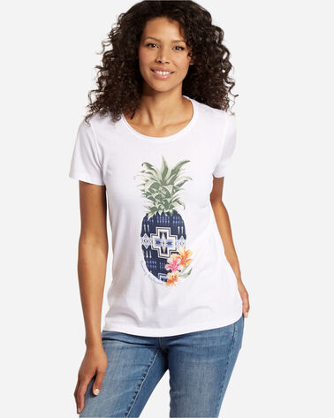 TOMMY BAHAMA & PENDLETON PINEAPPLE TEE, WHITE, large