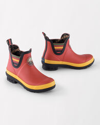 NATIONAL PARK CHELSEA RAIN BOOTS, RAINIER RED, large