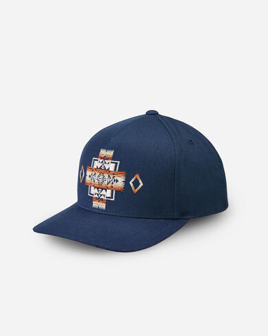 EMBROIDERED HAT IN NAVY