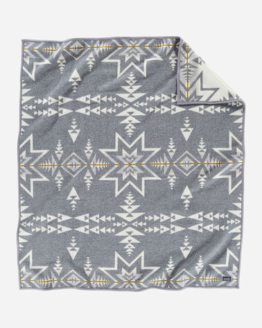PLAINS STAR BLANKET IN GREY