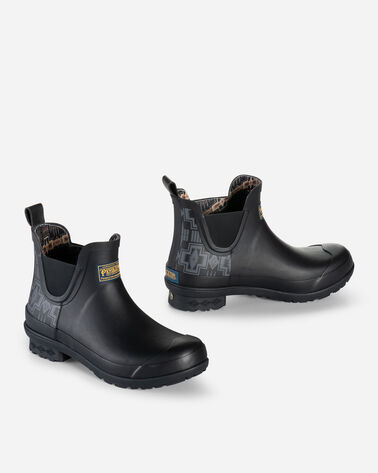 WOMEN'S HARDING CHELSEA RAIN BOOTS IN BLACK