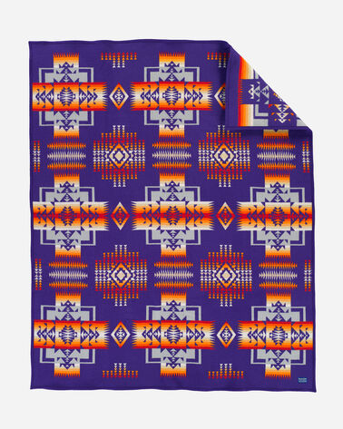 CHIEF JOSEPH BLANKET, PURPLE, large