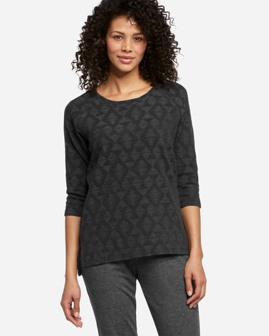THREE-QUARTER SLEEVE PULLOVER