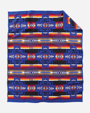 ADDITIONAL VIEW OF CHIEF JOSEPH BLANKET IN ROYAL