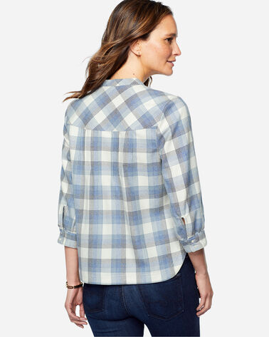PRESCOTT WOOL PLAID POPOVER, , large
