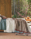 ADDITIONAL VIEW OF AMERICAN WEST BLANKET IN TAN