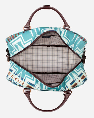 ALTERNATE VIEW OF HARDING WEEKENDER BAG IN AQUA
