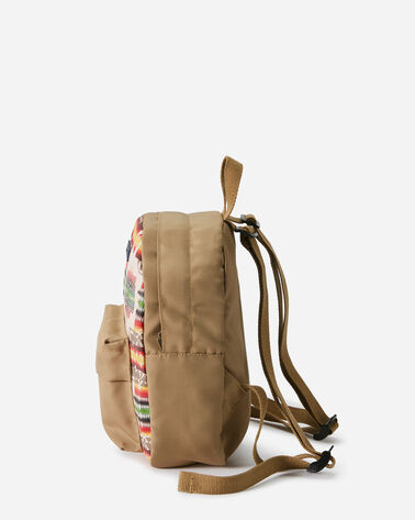 CHIEF JOSEPH CANOPY CANVAS MINI BACKPACK, IVORY, large