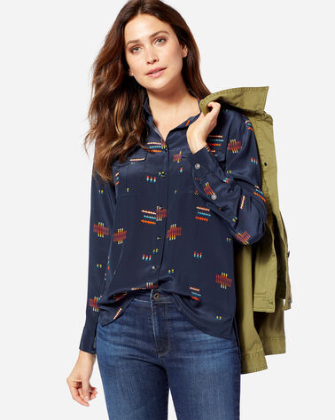 WOMEN'S CHIEF JOSEPH SILK SHIRT