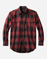 GUIDE SHIRT, RED/BLACK BUFFALO CHECK, large