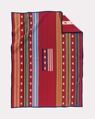 GRATEFUL NATION BLANKET, RED MULTI, large