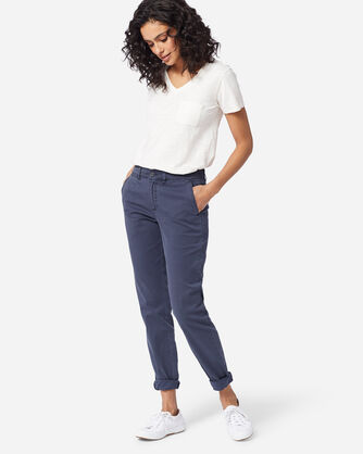 ADDITIONAL VIEW OF TRUE CHINO PANTS IN INDIGO