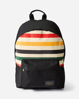 GLACIER CANOPY CANVAS BACKPACK IN IVORY