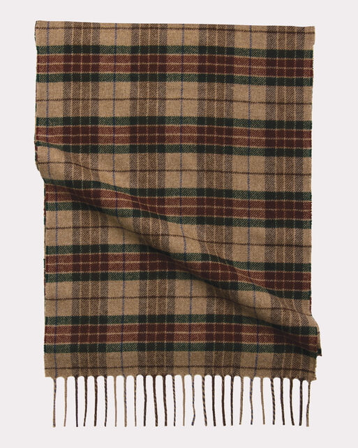 WHISPERWOOL MUFFLER, RANGER PLAID, large