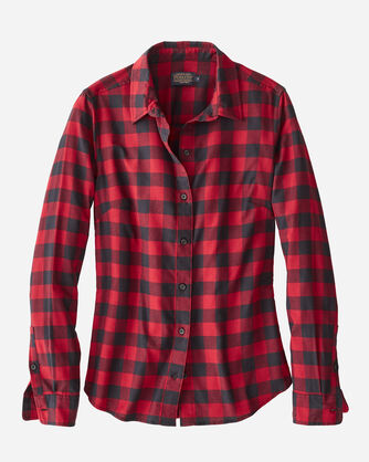 AUDREY FITTED FLANNEL SHIRT