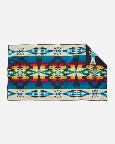 ADDITIONAL VIEW OF TUCSON SADDLE BLANKET IN BLACK