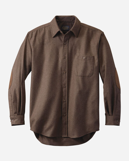 MEN'S FITTED ELBOW-PATCH TRAIL SHIRT