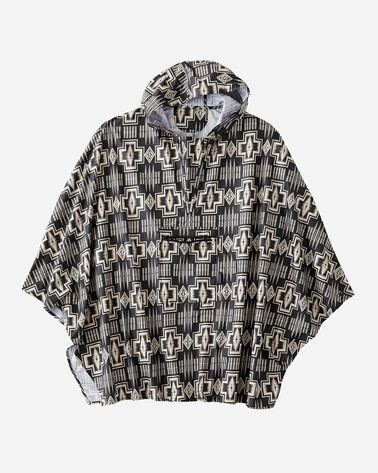 RAIN PONCHO IN TAN
