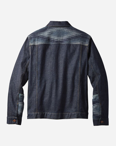 MEN'S MAGIC VALLEY DENIM & WOOL JACKET, DARK DENIM, large