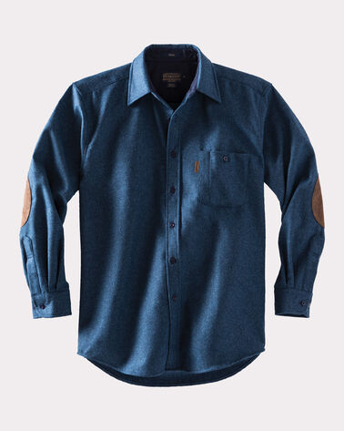 LONG-SLEEVE FITTED TRAIL SHIRT, BLUE MIX, large