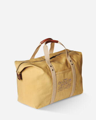 COTTON CANVAS GYM BAG