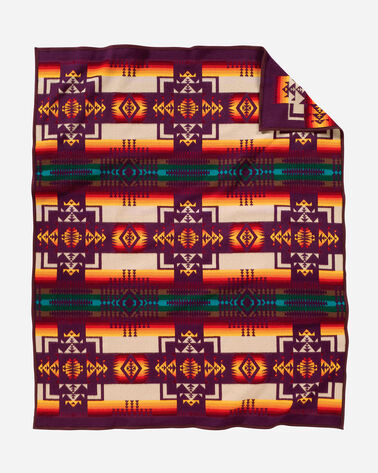 ADDITIONAL VIEW OF CHIEF JOSEPH BLANKET IN MAROON