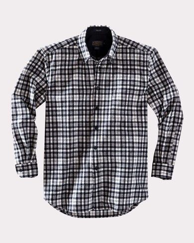 FITTED BUTTON-DOWN FIRESIDE SHIRT, BLACK SIR WALTER SCOTT, large