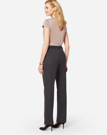 SEASONLESS WOOL TRUE FIT TROUSERS, OXFORD MIX, large