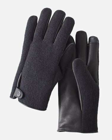 MEN'S UGG SNAP TAB TECH GLOVES