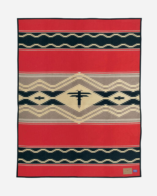 WATER BLANKET, RED MULTI, large