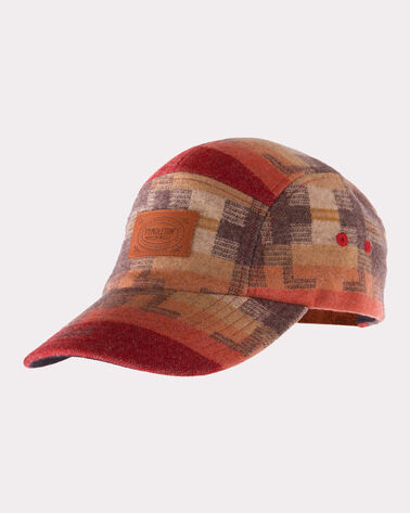 JACQUARD BASEBALL HAT, RED, large