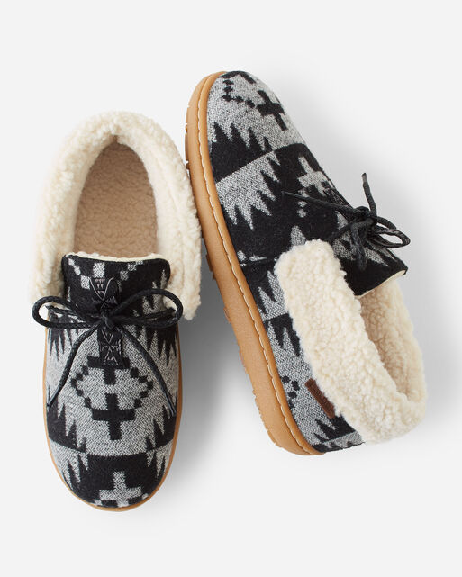 WOMEN'S CABIN FOLD SLIPPERS, SPIDER ROCK, large