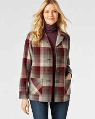 49ER JACKET, MAROON MULTI PLAID, large