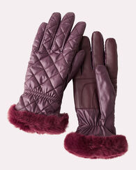 QUILTED ALL WEATHER GLOVES