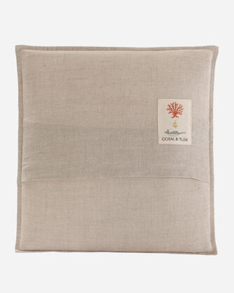 ADDITIONAL VIEW OF SAGUARO ARMADILLO POCKET PILLOW IN NATURAL LINEN