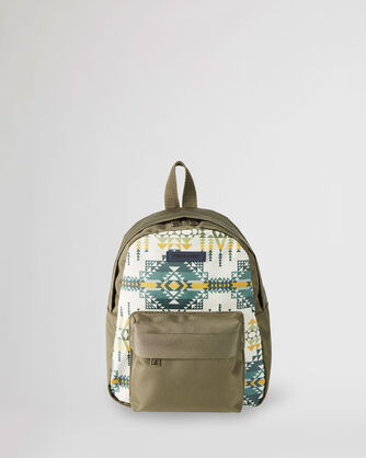 PILOT ROCK CANOPY CANVAS MINI BACKPACK IN OLIVE