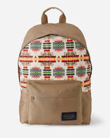 CHIEF JOSEPH CANOPY CANVAS BACKPACK IN IVORY