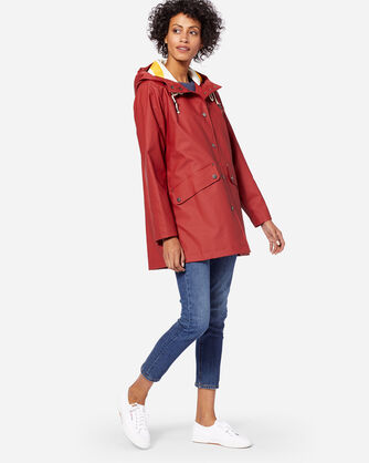 ADDITIONAL VIEW OF WOMEN'S ASTORIA JACKET IN RED