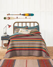 ADDITIONAL VIEW OF YAKIMA CAMP PIECED QUILT SET IN MINERAL UMBER