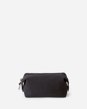 ALTERNATE VIEW OF SONORA TRAVEL POUCH IN BLACK