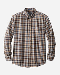 SIR PENDLETON WOOL SHIRT, STEWART CAMEL TARTAN, large