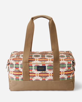 CHIEF JOSEPH CANOPY CANVAS WEEKENDER IN IVORY
