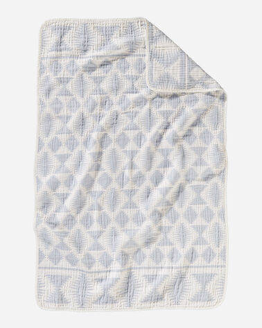 FALCON COVE COTTON BABY BLANKET IN SLATE
