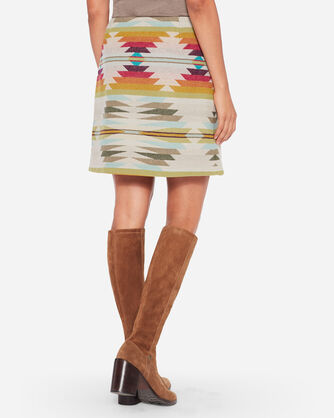 PACIFIC WOOL WRAP SKIRT