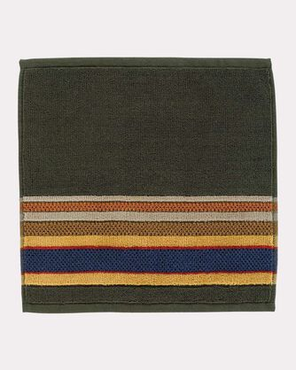 BADLANDS NATIONAL PARK WASHCLOTH, OLIVE, large