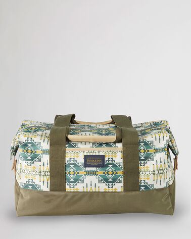 PILOT ROCK CANOPY CANVAS WEEKENDER BAG IN OLIVE