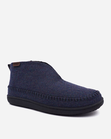 ALTERNATE VIEW OF MEN'S MOUNTAIN MID SLIPPERS IN NAVY HEATHER